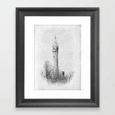 Water Tower-Victorian Framed Art Print