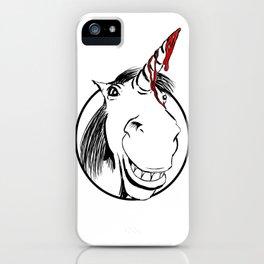 Happy Unicorn iPhone Case