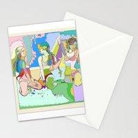 The Clique I Stationery Cards
