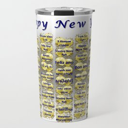 Happy New Year Travel Mug