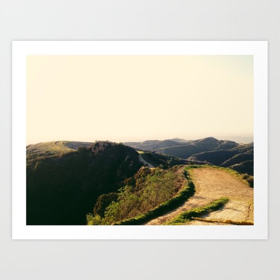 Turnbull Canyon, CA Art Print