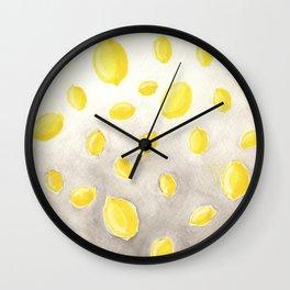 #67. ANNIE - Lemons Wall Clock