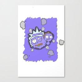 Ah W-w-Weez R-r-Rick Canvas Print