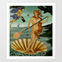 Gafferdite - Composition Art Print