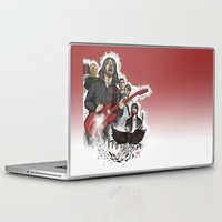 foo fighters Laptop & iPad Skins featuring Foo Fighting by Jaimie