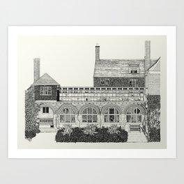 Standen, Kent Art Print