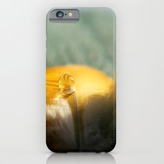 Yellow Feather Drop iPhone 6s Slim Case