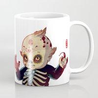 onesie Mugs featuring Kewpie by Jordan Lewerissa