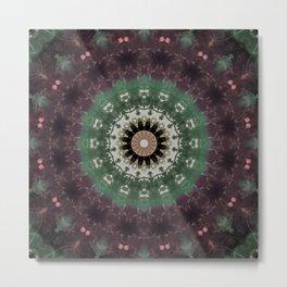 Wisdom Mandala Metal Print
