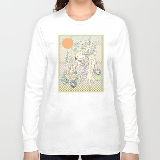 decay, cream & color  Long Sleeve T-shirt