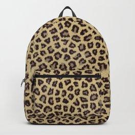 leopard jaguar cheetah print Backpack