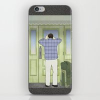 military iPhone & iPod Skins featuring Military Homecoming by Aquamarine Studio
