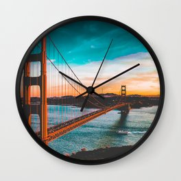 ADVENTURE San Francisco Wall Clock