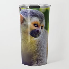 Squirrel monkey - Costa Rica Travel Mug