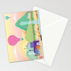 somewhere far away Stationery Cards