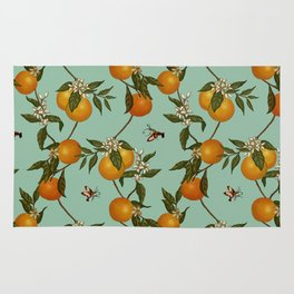 Orange Pattern I Rug