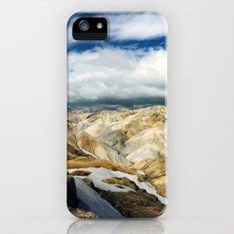 Landmannalaugar II iPhone Case