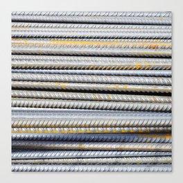 Steely Canvas Print