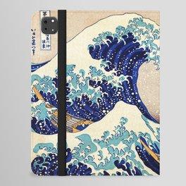 The Great Wave Off Kanagawa iPad Folio Case
