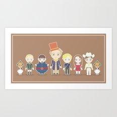 Willy Wonka Art Print