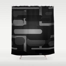 Mocha - Blackout Variant Shower Curtain