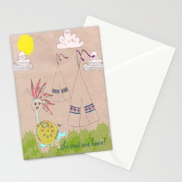 Indian Snail Stationery Cards