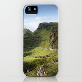 The Road to the Quiraing II iPhone Case