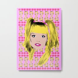 Spice World - Emma Baby Spice Metal Print