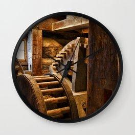 Wooden Gears Wall Clock