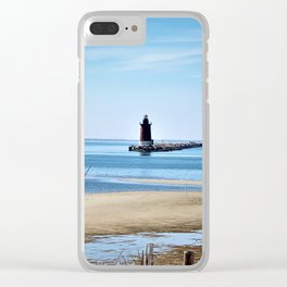 Lewes Lighthouse Clear iPhone Case
