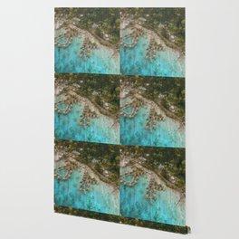Bird's Eye Bayside Wallpaper