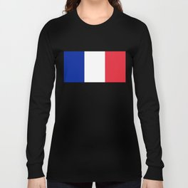 Flag of France, HQ image Long Sleeve T-shirt
