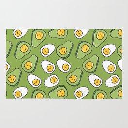 Egg And Avocado Rug