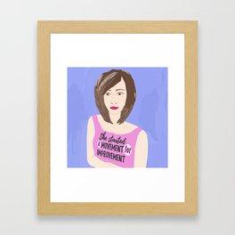 Movement for Improvement Framed Art Print