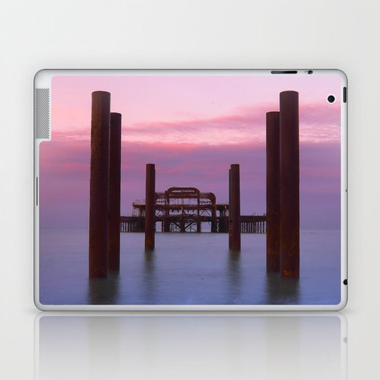 Brighton old pier Laptop & iPad Skin