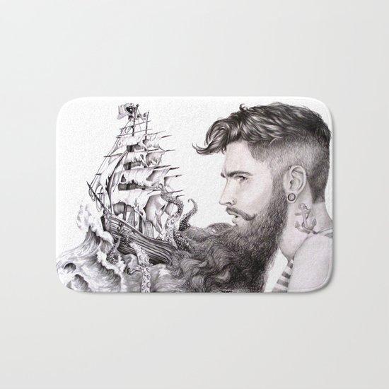 Sailor's Beard Bath Mat