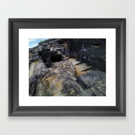 "Indian Cave @ Arecibo ""Cueva del Indio"" Framed Art Print"