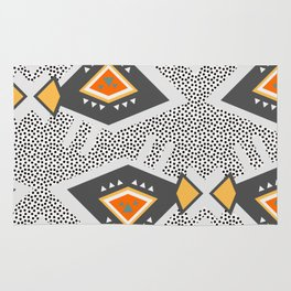 Dotted ethnic pattern Rug