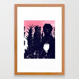 Unseen/Curious Framed Art Print