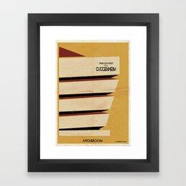 guggenheim Framed Art Print