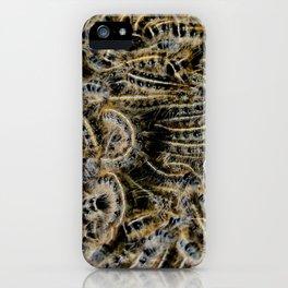 Tree Killing Caterpillars iPhone Case