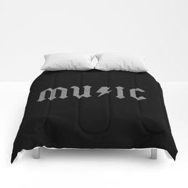 AC DC Music Comforters