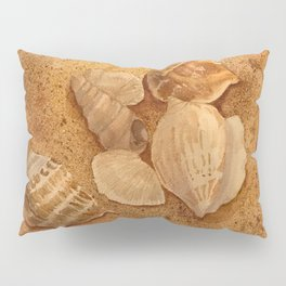 Shells in the Sand Pillow Sham