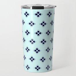 TiffanyBlue Pattern Travel Mug
