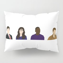 TV Characters Pillow Sham