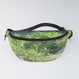 Wild Flowers by the Stream Fanny Pack