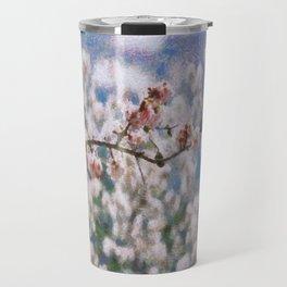 Blooming Almond Tree Travel Mug