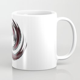 Red White Black Twisted Star Coffee Mug
