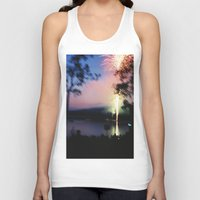 camp Tank Tops featuring camp by Michael Jack