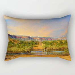 Sunset on the Cockburn Range - The Kimberley Rectangular Pillow